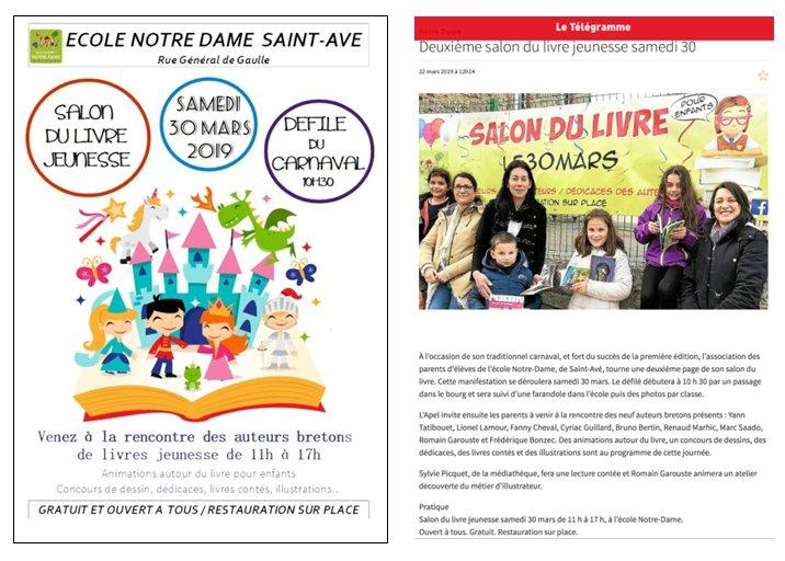 Carnaval et Salon du livre : samedi 30 mars