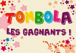 Gagnants tombola