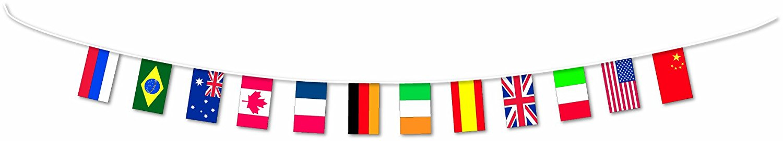 guirlande drapeaux