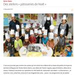 Des ateliers pâtisseries de Noël