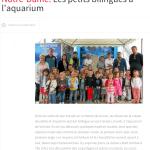 Les petits bilingues à l'aquarium