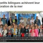 Les petits bilingues achèvent leur exploration de la mer