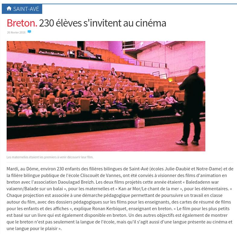 Le cinéma en breton