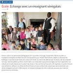 Échange avec un enseignant sénégalais