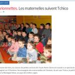 Les maternelles suivent Tchico