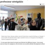 Une leçon de conjugaison par un professeur sénégalais