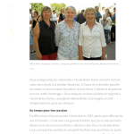 La retraite pour Anne et Brigitte