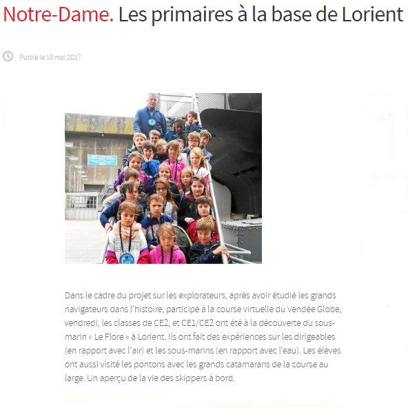 Les primaires à la base de Lorient