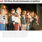 500 élèves d'écoles bretonnantes en répétition
