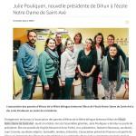 Julie Pouliquen, nouvelle présidente de Dihun